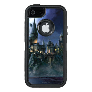 Coque OtterBox iPhone 5, 5s Et SE Château | Hogwarts éclairé par la lune de Harry