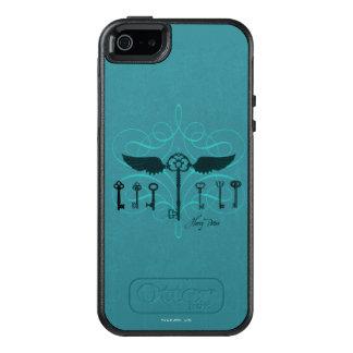 Coque OtterBox iPhone 5, 5s Et SE Clés volantes du charme | de Harry Potter