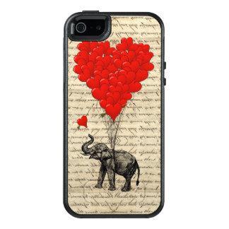 Coque OtterBox iPhone 5, 5s Et SE Coeur romantique d'éléphant