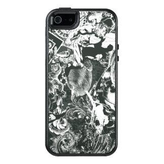 Coque OtterBox iPhone 5, 5s Et SE Collage de gris de Superman