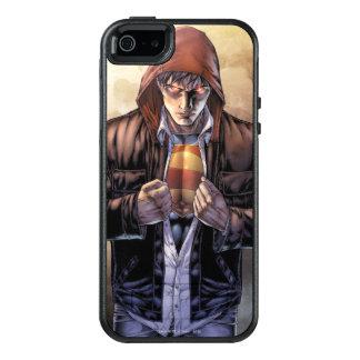 Coque OtterBox iPhone 5, 5s Et SE Couverture de la terre de Superman - couleur
