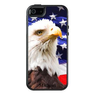 Coque OtterBox iPhone 5, 5s Et SE Drapeau américain Eagle