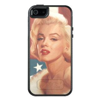 Coque OtterBox iPhone 5, 5s Et SE Drapeau de Marilyn