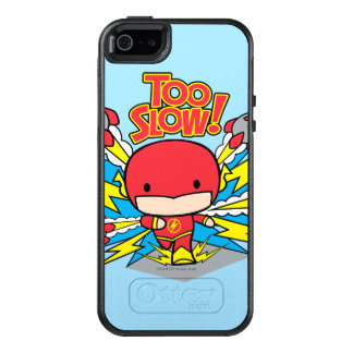 Coque OtterBox iPhone 5, 5s Et SE Éclair de Chibi dépassant Rocket