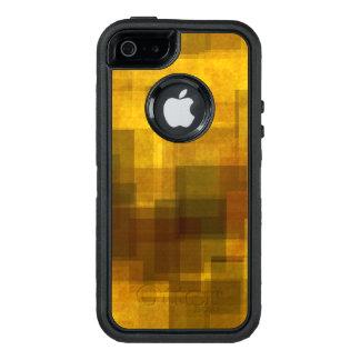Coque OtterBox iPhone 5, 5s Et SE géométrique abstrait coloré vintage d'art