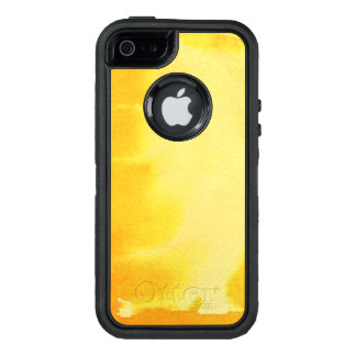 Coque OtterBox iPhone 5, 5s Et SE grand arrière - plan d'aquarelle - peintures 5
