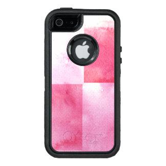Coque OtterBox iPhone 5, 5s Et SE grandes bannières d'aquarelle pour votre