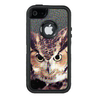 Coque OtterBox iPhone 5, 5s Et SE Hibou - cas de téléphone