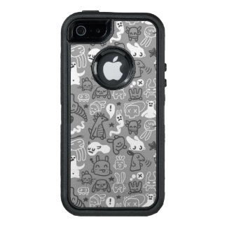 Coque OtterBox iPhone 5, 5s Et SE illustration de motif de griffonnages