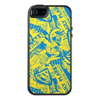 Coque OtterBox iPhone 5, 5s Et SE Jaune et bleu de Superman