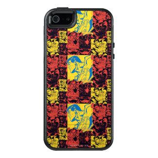 Coque OtterBox iPhone 5, 5s Et SE Jaune et rouge de Superman