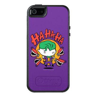 Coque OtterBox iPhone 5, 5s Et SE Joker de Chibi avec des dents de jouet