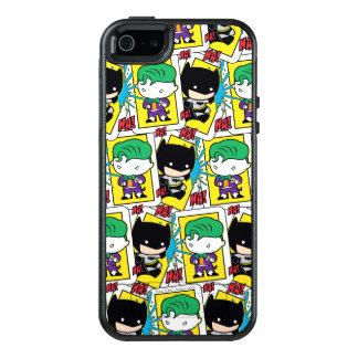 Coque OtterBox iPhone 5, 5s Et SE Joker de Chibi et motif de carte de jeu de Batman