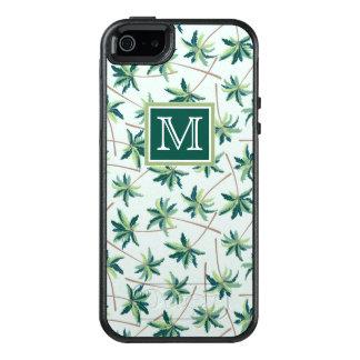 Coque OtterBox iPhone 5, 5s Et SE La paume tropicale | de vulpin ajoutent votre