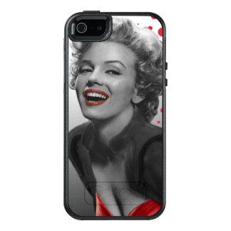 Coque OtterBox iPhone 5, 5s Et SE Le rouge pointille Marilyn