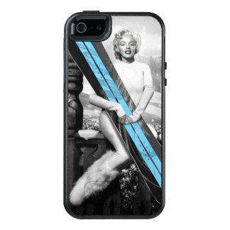 Coque OtterBox iPhone 5, 5s Et SE Le surf des neiges de Marilyn