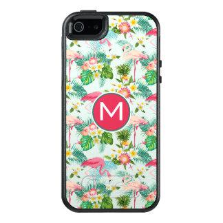 Coque OtterBox iPhone 5, 5s Et SE Les fleurs et les oiseaux tropicaux | ajoutent