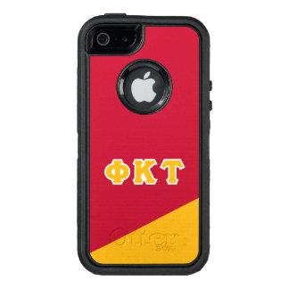 Coque OtterBox iPhone 5, 5s Et SE Lettres de Grec de Tau   de Kappa de phi