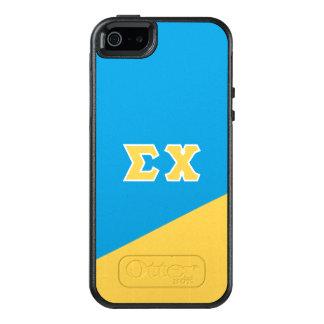 Coque OtterBox iPhone 5, 5s Et SE Lettres de Grec du Chi | de sigma