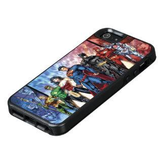 Coque OtterBox iPhone 5, 5s Et SE Ligne de ligue de justice 52 de la ligue de
