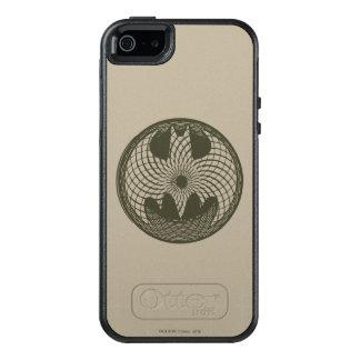 Coque OtterBox iPhone 5, 5s Et SE Logo de cercle du symbole   Nouveau de Batman