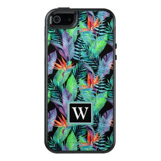 Coque OtterBox iPhone 5, 5s Et SE L'oiseau d'aquarelle du paradis | ajoutent votre