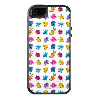Coque OtterBox iPhone 5, 5s Et SE M. Men et petit motif au néon de danse de la Mlle