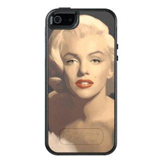 Coque OtterBox iPhone 5, 5s Et SE Marilyn grise graphique