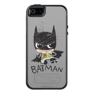 Coque OtterBox iPhone 5, 5s Et SE Mini croquis classique de Batman