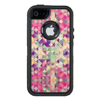 Coque OtterBox iPhone 5, 5s Et SE Modèle géométrique de hippies vintages
