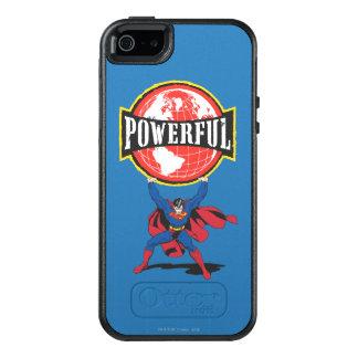 Coque OtterBox iPhone 5, 5s Et SE Monde puissant Superman