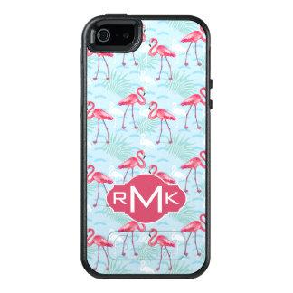 Coque OtterBox iPhone 5, 5s Et SE Monogramme du motif | de flamant