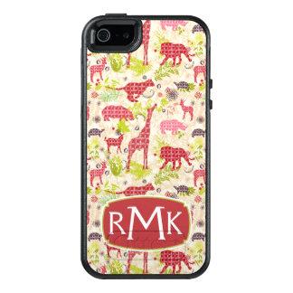 Coque OtterBox iPhone 5, 5s Et SE Monogramme du paradis | de jungle