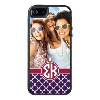 Coque OtterBox iPhone 5, 5s Et SE Monogramme et photo du Kappa | de sigma
