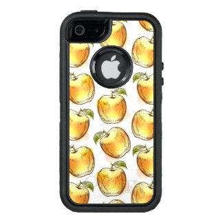 Coque OtterBox iPhone 5, 5s Et SE Motif avec la pomme jaune