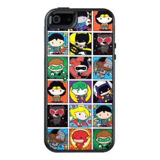 Coque OtterBox iPhone 5, 5s Et SE Motif de caractère de ligue de justice de Chibi