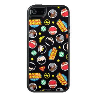 Coque OtterBox iPhone 5, 5s Et SE Motif de héros et de logos de ligue de justice de