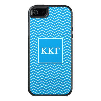 Coque OtterBox iPhone 5, 5s Et SE Motif du gamma   Chevron de Kappa de Kappa