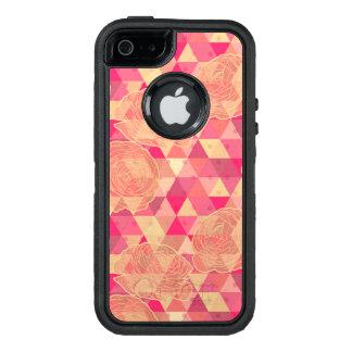 Coque OtterBox iPhone 5, 5s Et SE Motif géométrique de fleur