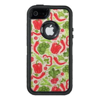 Coque OtterBox iPhone 5, 5s Et SE Motif lumineux des légumes frais
