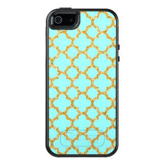 Coque OtterBox iPhone 5, 5s Et SE Motif moderne de Quatrefoil de mosaïque de