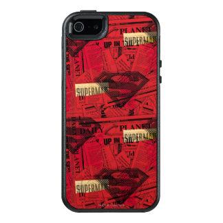 Coque OtterBox iPhone 5, 5s Et SE Motif rouge de bouclier