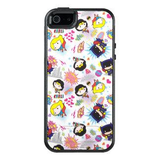 Coque OtterBox iPhone 5, 5s Et SE Motif superbe de héroïne de Chibi