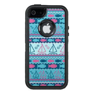 Coque OtterBox iPhone 5, 5s Et SE Motif superbe de poissons et de voilier