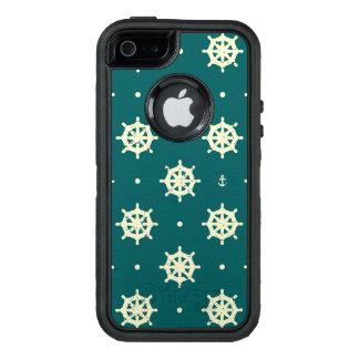 Coque OtterBox iPhone 5, 5s Et SE Motif vintage de roue de bateau