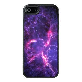 Coque OtterBox iPhone 5, 5s Et SE Nébuleuse de crabe pourpre SpaceHD
