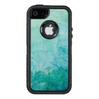 Coque OtterBox iPhone 5, 5s Et SE Papier avec l'abrégé sur bleu, vert, et noir