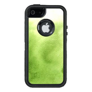 Coque OtterBox iPhone 5, 5s Et SE peintures d'aquarelle sur un papier rugueux de