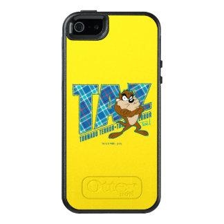 Coque OtterBox iPhone 5, 5s Et SE Plaid de terreur de tornade de TAZ™