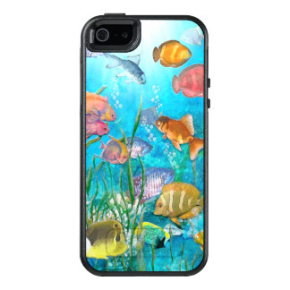Coque OtterBox iPhone 5, 5s Et SE Poissons tropicaux